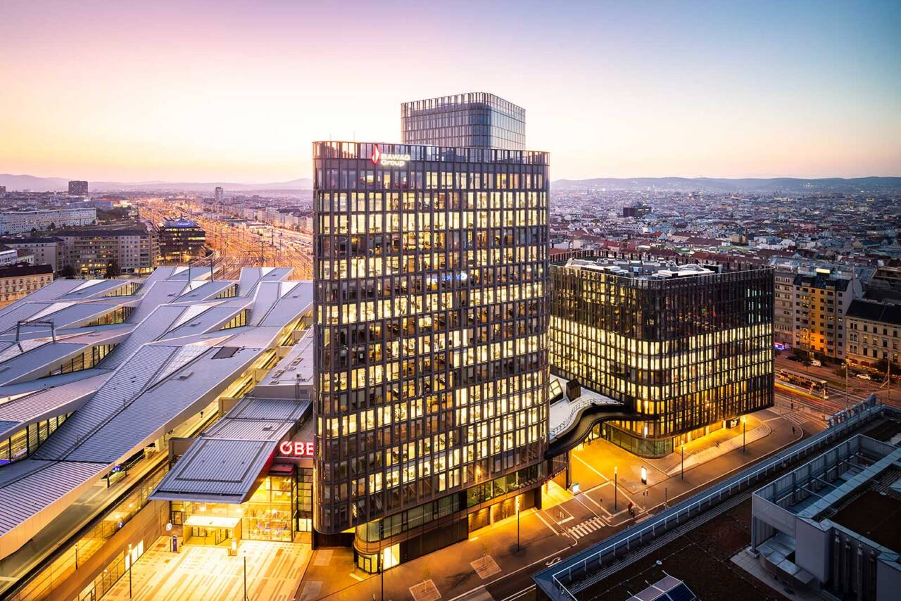Relocation to new headquarters in Vienna